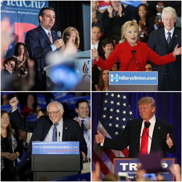 Cruz_Clinton_Trump_Sanders